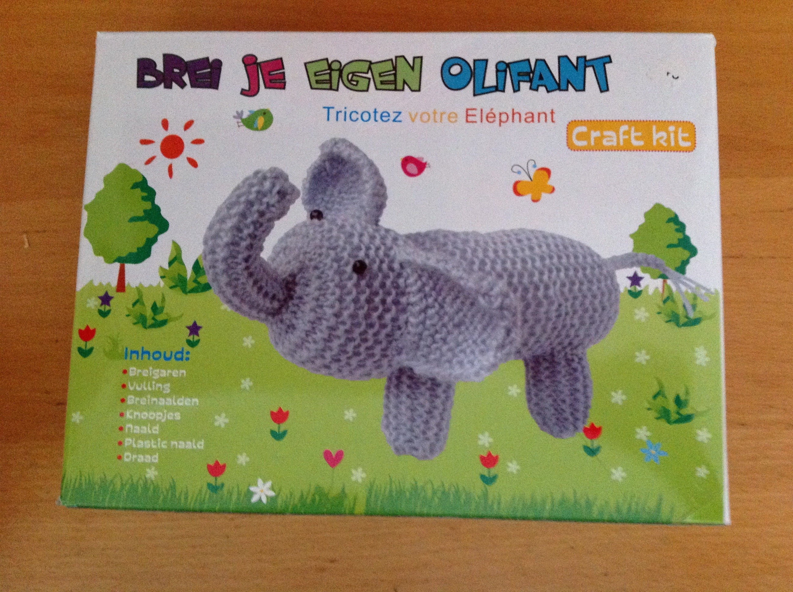 Crochet Project: Knit Your Own Elephant