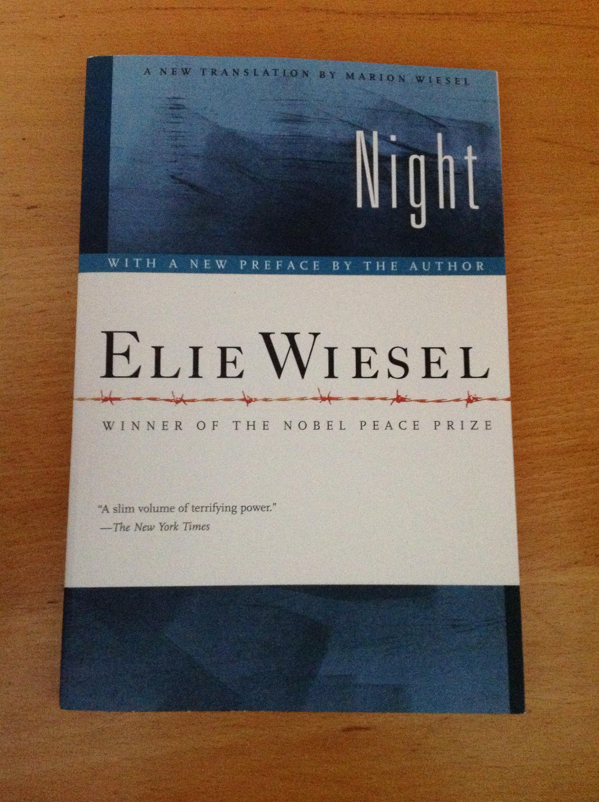 analysis of night by elie wiesel About night by elie wiesel: the gripping memoir by nobel laureate elie wiesel is one of the fundamental texts of holocaust reportage and a poetic examination of a young man's loss of faith amid unspeakable acts of inhumanity.