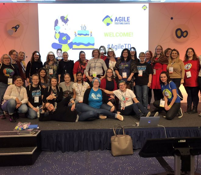 Women in Testing at Agile TD after Ashley Hunsberger's Keynote