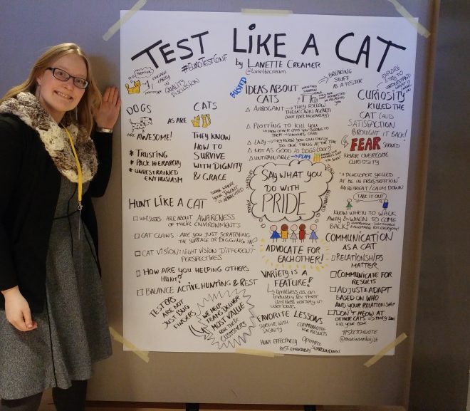 European Testing Conference: Visual Historian, Conversations and Learning